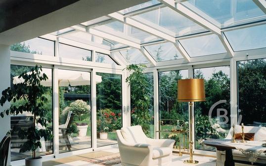 Конструкции из стекла. Зимние сады и оранжереи