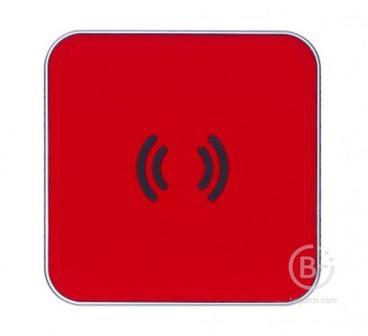 Беспроводное зарядное устройство Rombica Neo Energy Red, NQ-00240