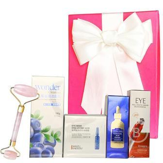 Подарочный набор косметики для лица Asmetika Blue & red