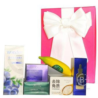 Подарочный набор косметики для лица Asmetika Perilla & banana
