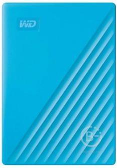 """Внешний жёсткий диск WD My Passport 2,5"""" 4ТБ Blue, WDBPKJ0040BBL-WESN"""