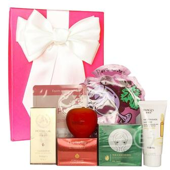 Подарочный набор косметики для лица Asmetika Pomegranate & Sea
