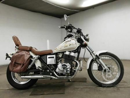 Мотоцикл круизер Honda Rebel 250 рама MC13 тюнинг custom боковые мотосумки гв 1986