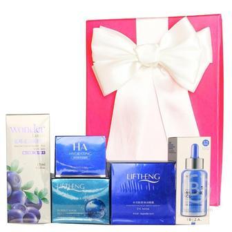 Подарочный набор косметики для лица Asmetika wonder& blue