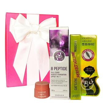 Подарочный набор косметики для лица Asmetika 8 Peptide