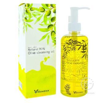 Гидрофильное масло с оливой  Elizavecca  Natural 90% Olive Cleansing Oil ELIZAVECCA, 300 мл