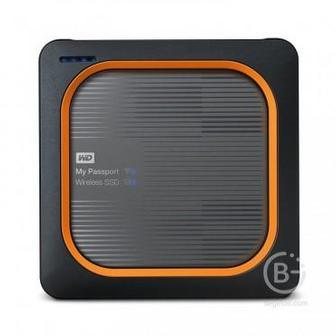 Внешний SSD WD My Passport Wireless SSD WDBAMJ0020BGY-RESN 2ТБ