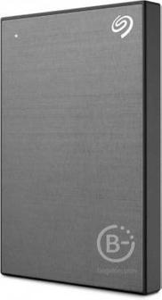 Внешний жесткий диск Seagate Backup Plus Slim 1ТБ, Space Grey, STHN1000405