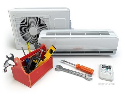 Монтаж, ремонт  кондиционеров, вентиляторов, сплит-систем