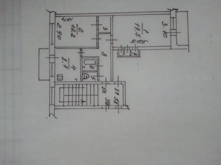 Продается 2-х комнатная квартира на Малинниках улучшенной планировки