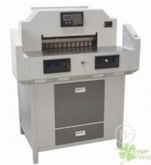 Резак для бумаги, Автоматический программируемый гильотинный резак BULROS professional 4606V3