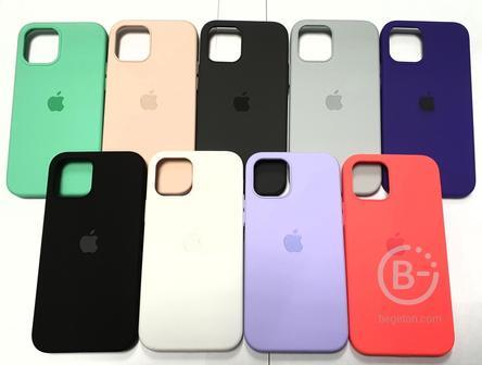 Чехол Silicone Case iPhone 12/12 Pro
