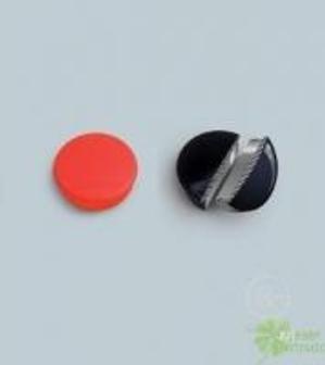 Магниты Hobby,d=25х8мм,сила 0,3кг,10шт.|уп.,красные,карт.уп.