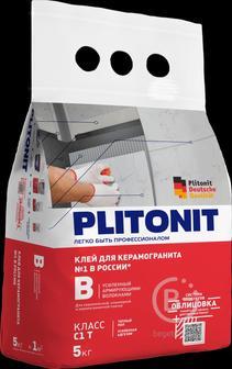 Клей для плитки ПЛИТОНИТ В-25 кг универсальный