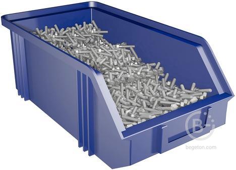 Ящик пластиковый большой инструментальный