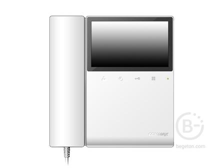 Цветной монитор видеодомофона CDV-43K