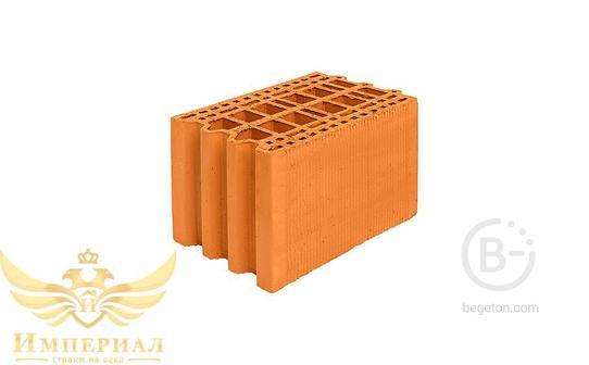 Блок керамический поризованный Porotherm 25M М100 10,53 NF