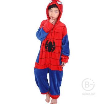 """Детская Пижама Кигуруми """"Человек-паук"""" (140 см.)"""