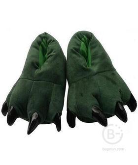 """Тапочки для кигуруми """"Зеленые"""" (Размер 38-44)"""