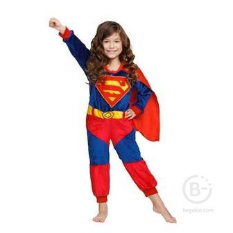 Детский кигуруми Супермен (130 см)