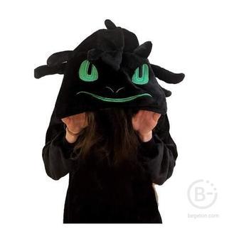 Детский кигуруми дракон Беззубик (110 см)