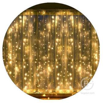 Гирлянда-штора светодиодная (320 Led 3х2 тепло-белая)