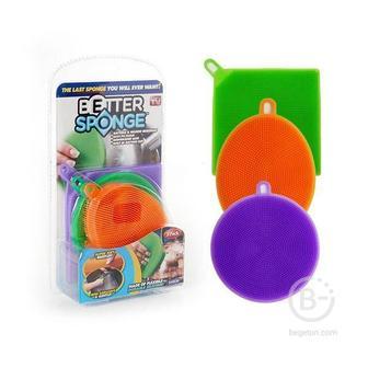 Набор универсальных силиконовых губок «Better Sponge»