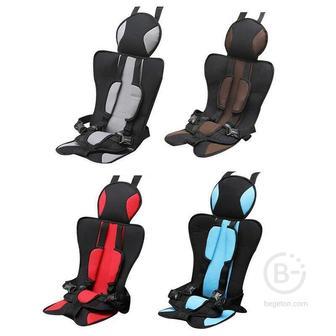 Бескаркасное детское автокресло Child Car Seat (Коричневый)