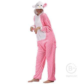 Пижама Кигуруми Hello Kitty (L 168-178 см.)