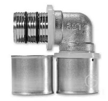 Пресс-угольник труба-труба 16х16 PRAMEN