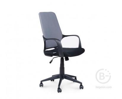 Кресло NORDEN Стиль, черный пластик, серая спинка, черная сидушка (CX1168M01 gray - black)
