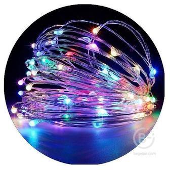 Гирлянда нить-роса микродиод LED 10м/100л (Разноцветный)