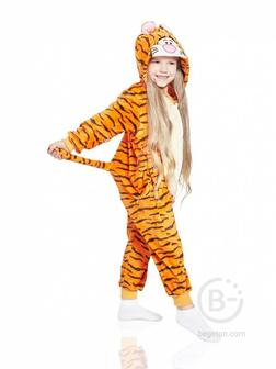 Детская Пижама Кигуруми Тигр (100 см.)