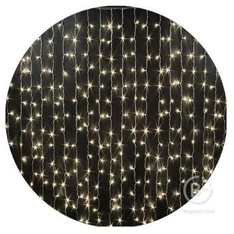 Гирлянда-штора светодиодная (160 Led 1,5х1,5 белая)