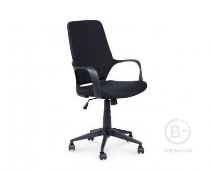 Кресло NORDEN Стиль, черный пластик, черная ткань, премиум (CX1168M01 black)