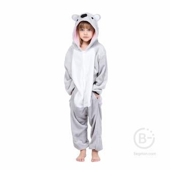 "Детская Пижама Кигуруми ""Коала"" (115 см.)"