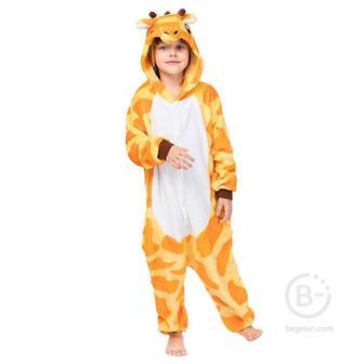 "Детская Пижама Кигуруми ""Жираф"" (85 см.)"