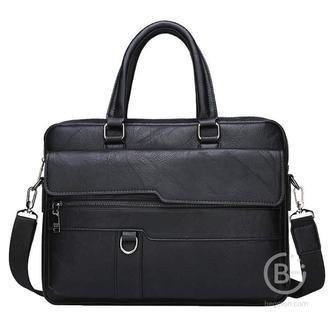 Мужская сумка портфель Jeep Buluo (Черный)
