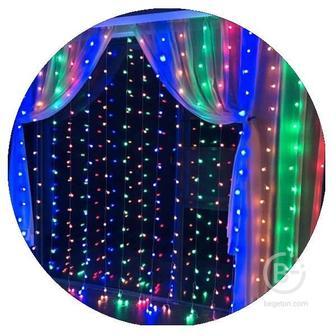 Гирлянда-штора светодиодная (240 Led 2х2 цветная)