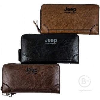 Портмоне Jeep Buluo (Черный)