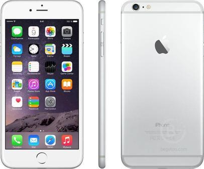 Смартфон Apple iPhone 6s Plus 64GB Серебристый
