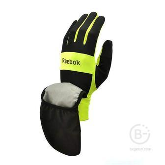 Всепогодные перчатки для бега Reebok RRGL-10132YL (S)