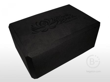 Блок для йоги Black Block Original Fittools