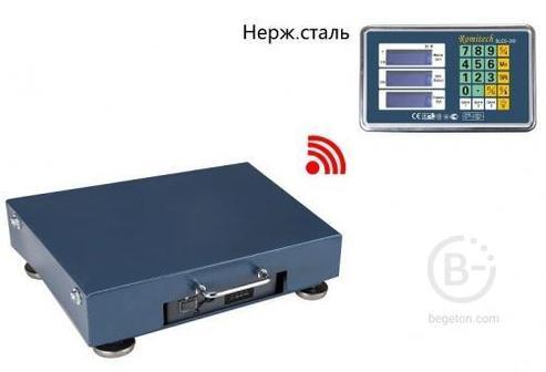 Весы платформенные беспроводные Romitech BLES-300 (300кг/100г; 400х500) Т