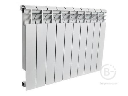 Радиатор биметаллический ROMMER Profi BM 500 (BI500-80-80-150) 10 сек.(RAL9016)