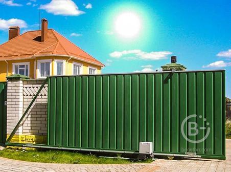 Откатные ворота в Орехово-Зуево