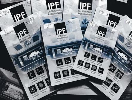 """Защитные стёкла """"IPF"""""""