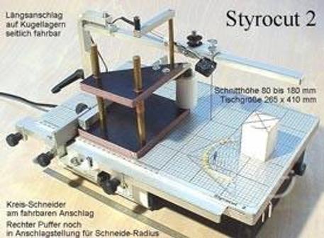 Макетный станок для резки пенопласта Styrocut-3 Редактировать