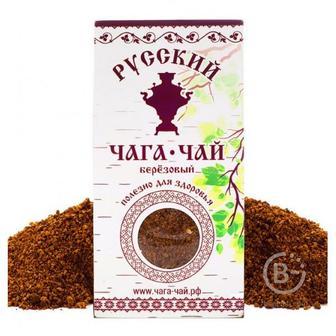 Русский Чага-чай Берёзовый 100г в картоне