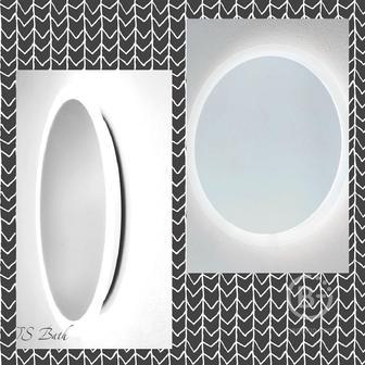 Оригинальные зеркала с подсветкой